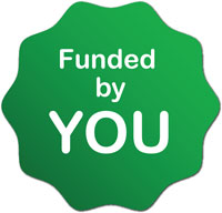 funded by you