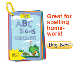 Signing Time ABC Flash Cards