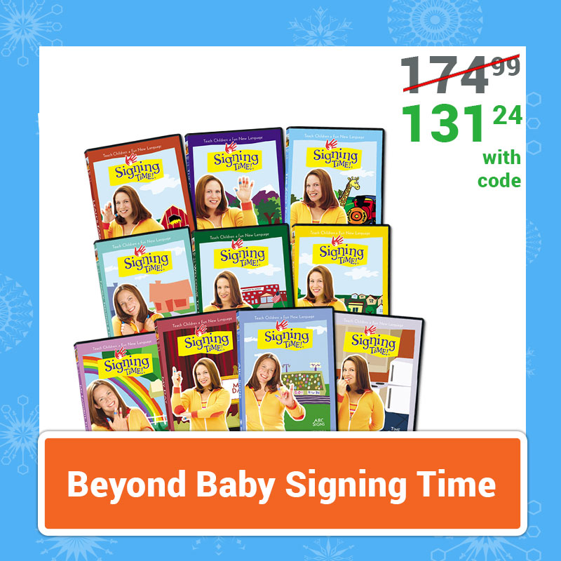Cyber Monday Sale Beyond Baby Signing Time