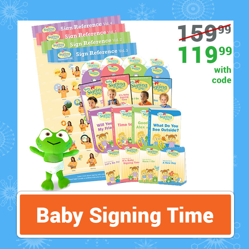 Cyber Monday Sale Baby Signing Time