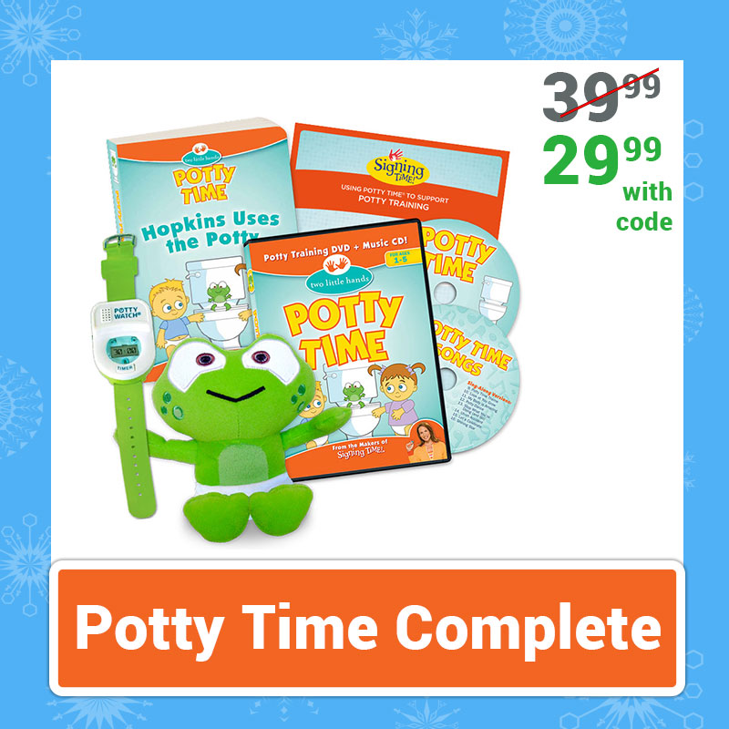 Cyber Monday Sale Potty Time Complete