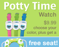 Potty Time Reminder Watch with Free Potty Seat