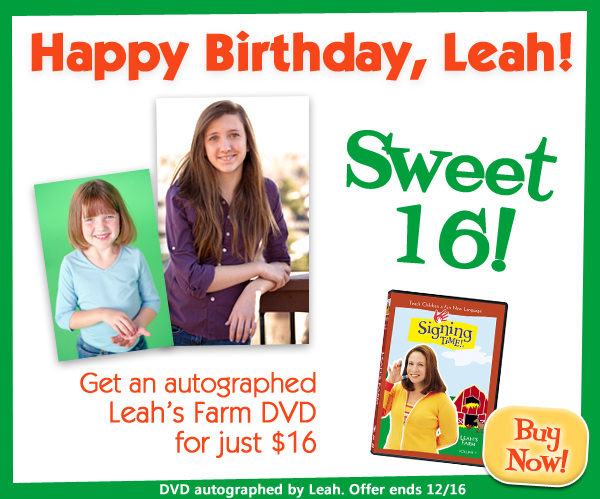 Get an autographed Leah's Farm DVD for $16 though Dec. 16