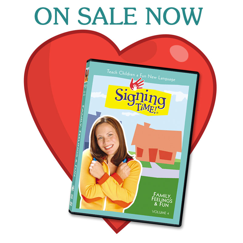 Family, Feelings & Fun DVD on sale through Feb 28, 2014 - Save $5