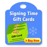 Signing Time Gift Cards