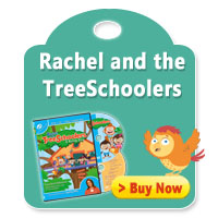 Rachel and the TreeSchoolers DVD + CD