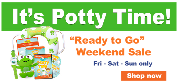 Potty Time Weekend Sale