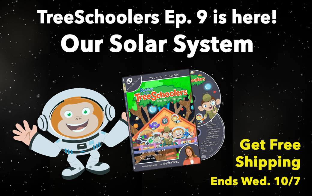 TreeSchoolers Ep. 9: Our Solar System