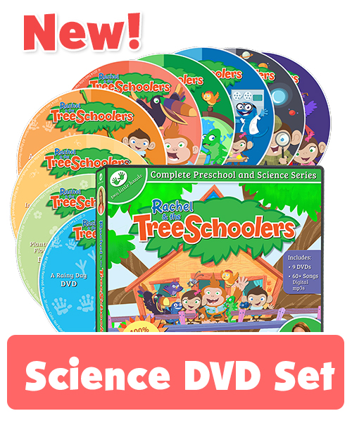 New TreeSchoolers DVD Set