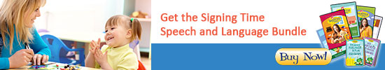 Signing Time Speech and Language Bundle