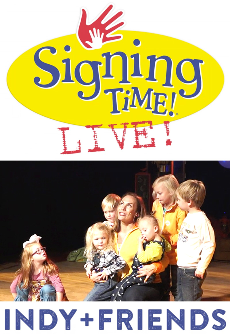 Signing Time Live! Indy+Friends