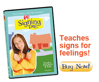 Signing Time DVD: Family, Feelings and Fun