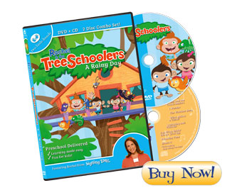 Rachel & the TreeSchoolers Episode 1: A Rainy Day DVD + CD