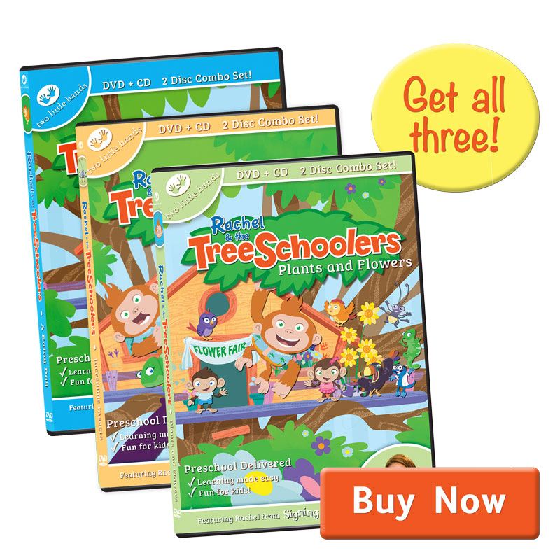 Rachel & the TreeSchoolers Episode 1-3 Set