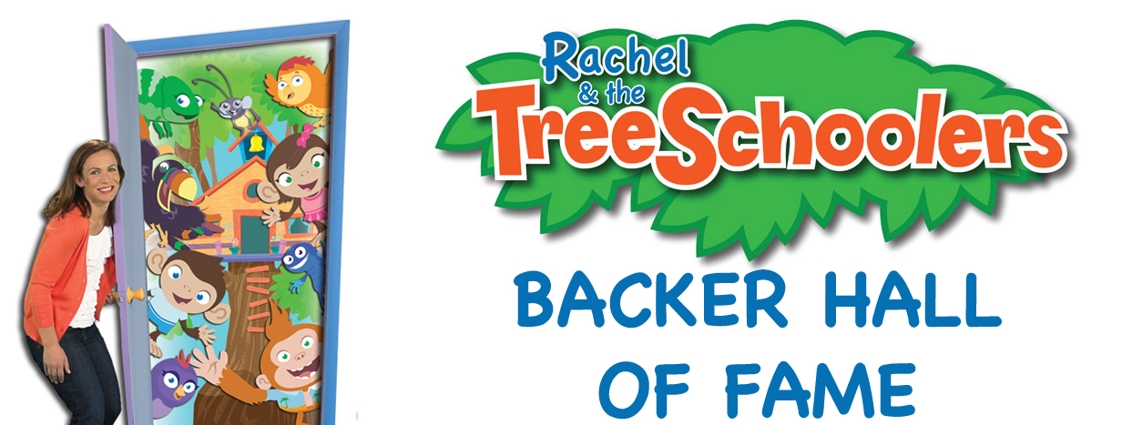 Rachel & The TreeSchoolers Backer Hall of Fame